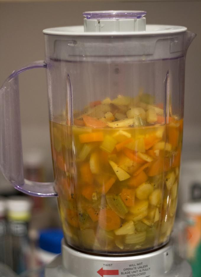 vegan winter soup blender 1