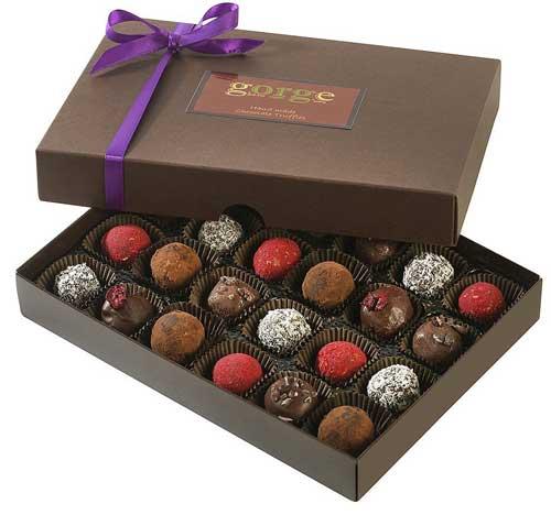 gorge chocolate