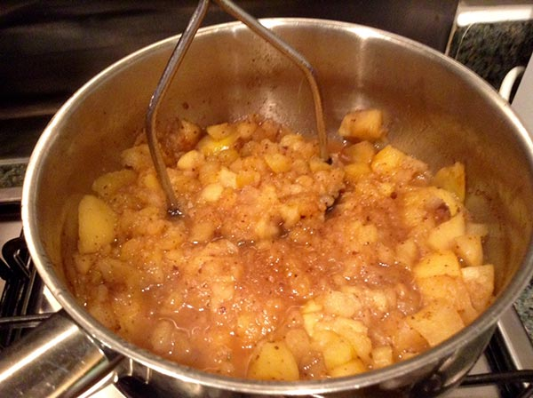 vegan applesauce recipe