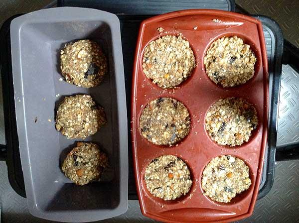 vegan 6 seed cookies