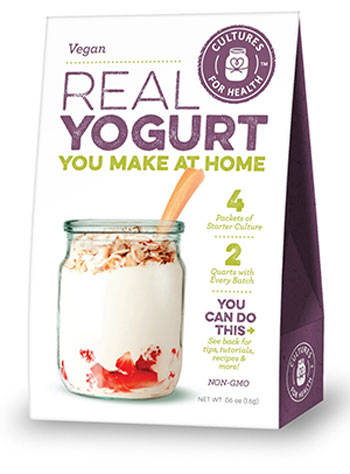 Another Cool Vegan Gift Yogurt Culture Kit
